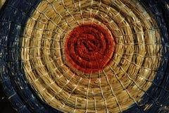 Archery Straw Target Stock Image
