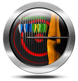 Archery Symbol Stock Photo