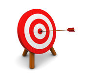 Archery target Stock Photography