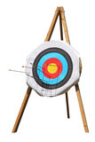 Archery target Stock Images
