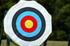 Archery Target 53 Royalty Free Stock Photos