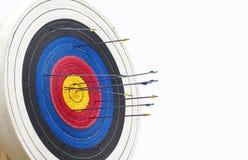 Archery target Royalty Free Stock Photos