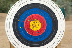 Archery target Stock Image