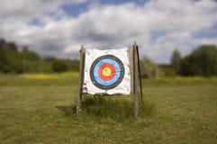 Archery target Stock Photo