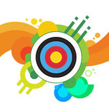Archery Target Archer Sport Game Competition Royalty Free Stock Images