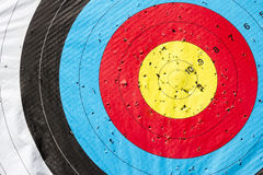 Archery Target. Heading Perfection. Royalty Free Stock Image