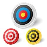 Archery target set Stock Image