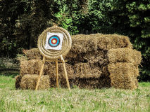 Archery target shield Stock Images