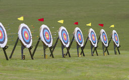 Archery target Royalty Free Stock Photography