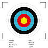 Archery Target. Vector. Stock Photography