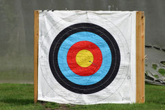 Archery target Royalty Free Stock Image
