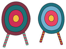 Archery targets Royalty Free Stock Images