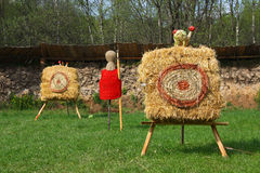 Archery targets Royalty Free Stock Photo