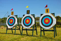 Archery targets Royalty Free Stock Image