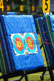 Archery targets Royalty Free Stock Photos