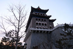 Archery Tower of Zhengyangmen is a gate in Beijing`s historic city Stock Photography