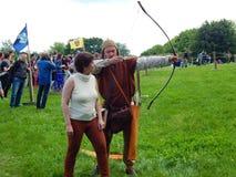 Archery training. Stock Images