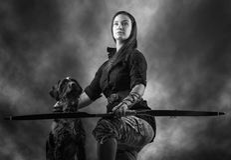 Archery woman Stock Photography