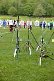 Archery world cup, May 4, 2010 in Porec, Croatia Stock Images