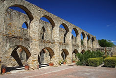 Arches. In Mission San Jose, San Antonio Royalty Free Stock Images