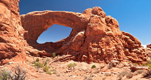 Arches. Cove Arch in Arches National Park Royalty Free Stock Photos