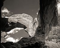Arches. National Park in Moab, Utah Royalty Free Stock Photos