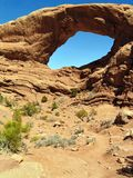 Arches. This image was taken of Arches National Park, Utah Stock Photography