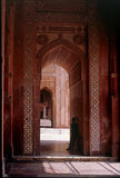 Arches. This picture has been taken in world famous ancient city called Fatehpur Sikri near city Agra, India Royalty Free Stock Photos