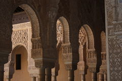Arches, Alhambra Royalty Free Stock Images