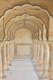 Arches at Amber Fort near Jaipur Stock Photography
