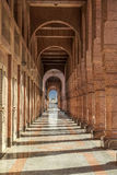 Arches of ancient porch in Saudi Arabia Stock Image