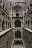 Arches in an Ancient Step Well in India Royalty Free Stock Images