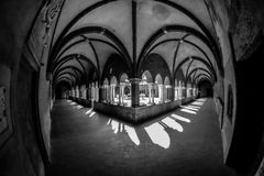 Arches, Architecture, Black Royalty Free Stock Photos
