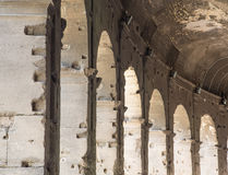 Arches Around Coliseum Stock Image