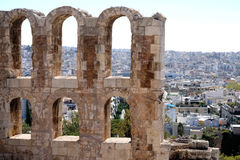 Arches, Athens Royalty Free Stock Image