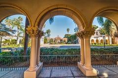 Arches in Balboa park. California Royalty Free Stock Photo