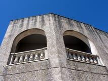 Arches and balcony Stock Photos