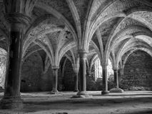 Arches at Battle Abbey at Hastings Royalty Free Stock Images