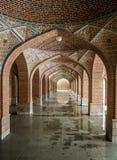 Arches of Blue Mosque Stock Photos