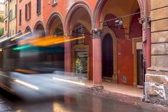 Arches of Bologna Stock Photo