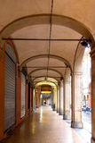 Arches of Bologna Stock Photography
