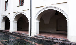 Arches in the building Royalty Free Stock Images