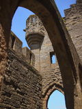 Arches in Carcassonne Stock Images
