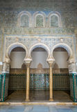 Arches , Cathedral of Sevilla Royalty Free Stock Photography