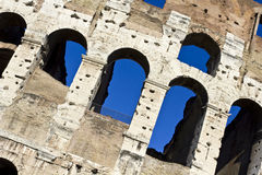 Arches of the Coliseum Royalty Free Stock Images