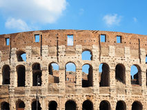 Arches Colosseum Rome Italy Stock Images