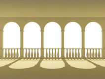 Arches and columns Royalty Free Stock Photography
