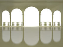 Arches and columns Stock Photography