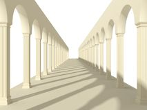 Arches and columns Stock Photos
