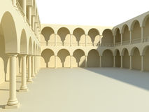 Arches and columns Royalty Free Stock Image